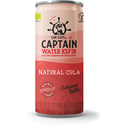 12kpl The Gutsy Captain Water Kefir Natural Cola fermentoitu hedelmäjuoma luomu 330ml