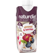 Naturdiet Almond & Berries shake ateriankorvike 330ml