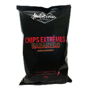 Hellicious Habanero Chips 100g
