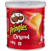 12kpl Pringles Original Small Can perunalastu 40g