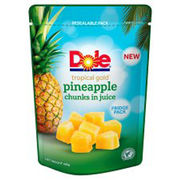 Dole, Tropical Gold ananaspalat mehussa, pussi