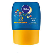 NIVEA 50ml Sun Lotion SK30 Kids Pocket Size aurinkosuojaemulsio