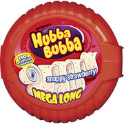 12kpl Hubba Bubba 56g snappy strawberry tape purukumi