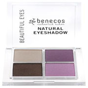 Benecos Natural Quattro Eyeshadow Beautiful Eyes luomiväripaletti 7,2g