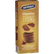 McVitie's Digestive Thins Cappuccino 150g