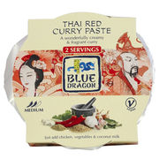 Blue Dragon Thai Red Curry punainen currytahna 50g