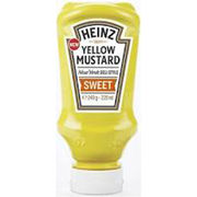 Heinz 220ml Yellow Mustard Sweet