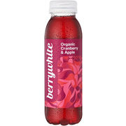 Berrywhite Organic Cranberry & Apple 330ml