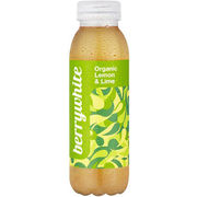 Berrywhite Organic Lemon & Lime 330ml