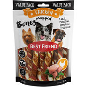 20kpl - Best Friend Bones 3in1 nauta&possu purutikut koiralle 220g