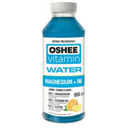 OSHEE Vitamin Water Magnesium+B6 vitaminoitu juoma 555ml