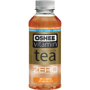 Oshee Vitamin Tea Zero persikka 555ml