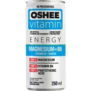 OSHEE Vitamin Energy Magnesium+B6 250ml