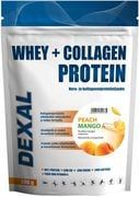 Dexal Whey+Collagen peachmango 500g