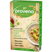 Provena Instant Oat Meal omena & vaahterasiirappi pikapuuro gluteeniton 5x40g