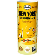 12kpl Paulig New York Cold Brew Latte maitokahvijuoma 235ml