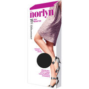 Norlyn sukkahousut Run Resist 3D 15den Tight, Black, koko 44-48