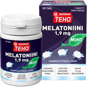 Bioteekin Teho Melatoniini Mint 1,9 mg 100tabl