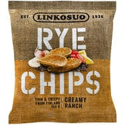 Linkosuon Rye Chips Creamy Ranch ruissipsi 150g