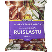 Linkosuo Ruislastu Sour Cream & Onion 200g