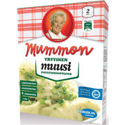 Mummon muusi 180g yrttinen