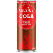 Celsius Cola virkistysjuoma 355ml