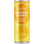Celsius 355 ml persikka-mango