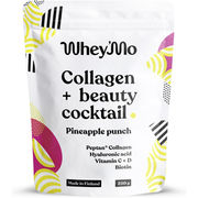 Whey´Mo Collagen + Beauty Cocktail Pineapple Punch kollageeni-juomajauhe 250g