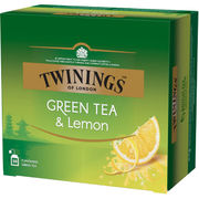 Twinings Green Tea Lemon 50x1,6g tee