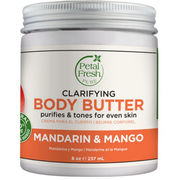 Petal Fresh Clarifying Body Butter Mandarin & Mango vartalovoi 237ml