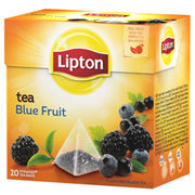 Lipton Blue Fruit pyramidi musta tee 20ps