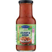 Santa Maria Asian Wok Sweet & Sour kastike luomu 250ml