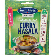 SM 30G LUOMU INDIANSPICES CURRY MASALA