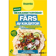 Risenta medium Tex Mex kikhernerouhe 200g luomu