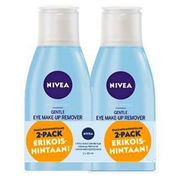 NIVEA Daily Essentials Gentle silmämeikinpoistoaine 2x125ml