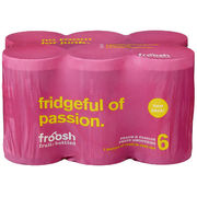 Froosh Persikka & Passion 6-pack smoothie 150ml