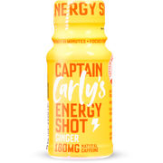 Captain Carly's Boost Ginger Energiashotti 60ml