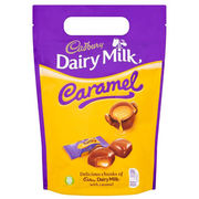 Cadbury Milk Caramel Chunk Bag 200g