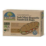 If You Care FSC certified Sub/Mini Baguette Sandwich Bags (12pcs)