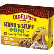 Old El Paso Stand 'n' Stuff Mini Taco shells 120g