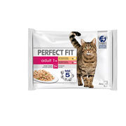 Perfect Fit Adult Sterile Mix kissan ruoka 4x85g