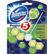 Domestos Power 5 Lime WC-raikastin