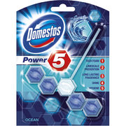 Domestos Power 5 Ocean WC-raikastin