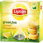 Lipton 20ps Lemon Macaroon pyramidi
