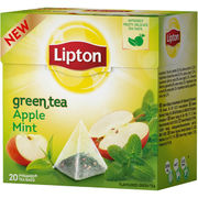 Lipton 20ps Green Apple Mint pyramiditee