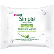 Simple 25kpl Micellar Cleansing Wipes