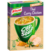 Knorr 3x18g Cup a Soup Thai-kanakeitto