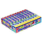 20kpl - Mentos Rainbow makeispastilli 37g