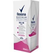 Rexona Maximum Protection Confidence Deo Roll-on antiperspirantti 50ml