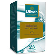 Dilmah naturally zesty lemon 1 colour foil 25pss